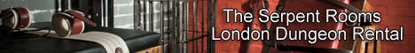 The Serpent Rooms London dungeon rental