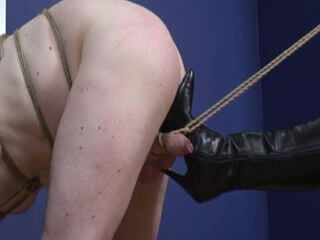 mistress amrita bondage discipline video cbt domination pvc leather boots heels